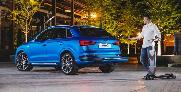 Audi connected mobility, una solución de movilidad para las grandes urbes