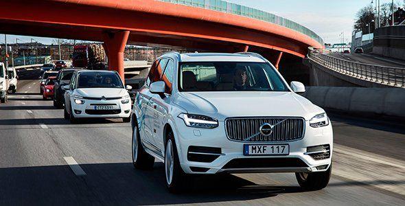 El coche autónomo de Volvo se prepara en China