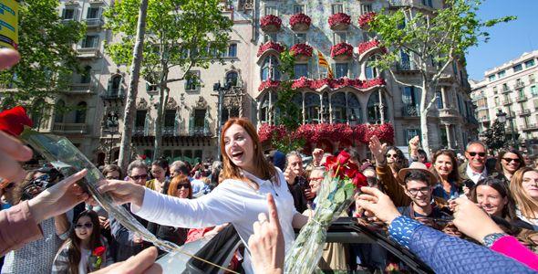 Más de 1.000 rosas en un Seat León X-Perience