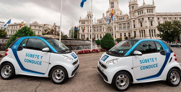 Car2go aumentará su flota en Madrid tras su tremendo éxito