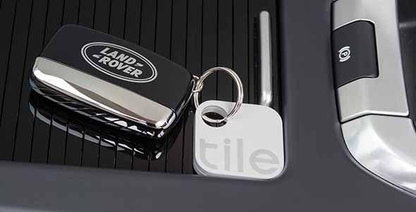 Tile, la app para buscar objetos perdidos del Land Rover Discovery Sport 17MY