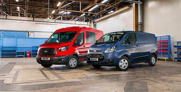 Nuevas Ford Transit y Transit Custom con motor EcoBlue