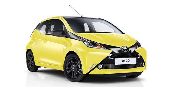 Nueva edición especial del Toyota Aygo X-cite