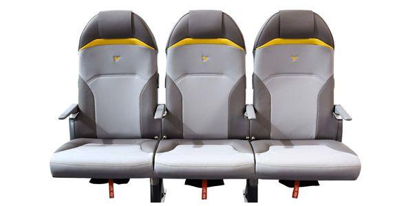 Peugeot crea unos asientos de avión ultraligeros