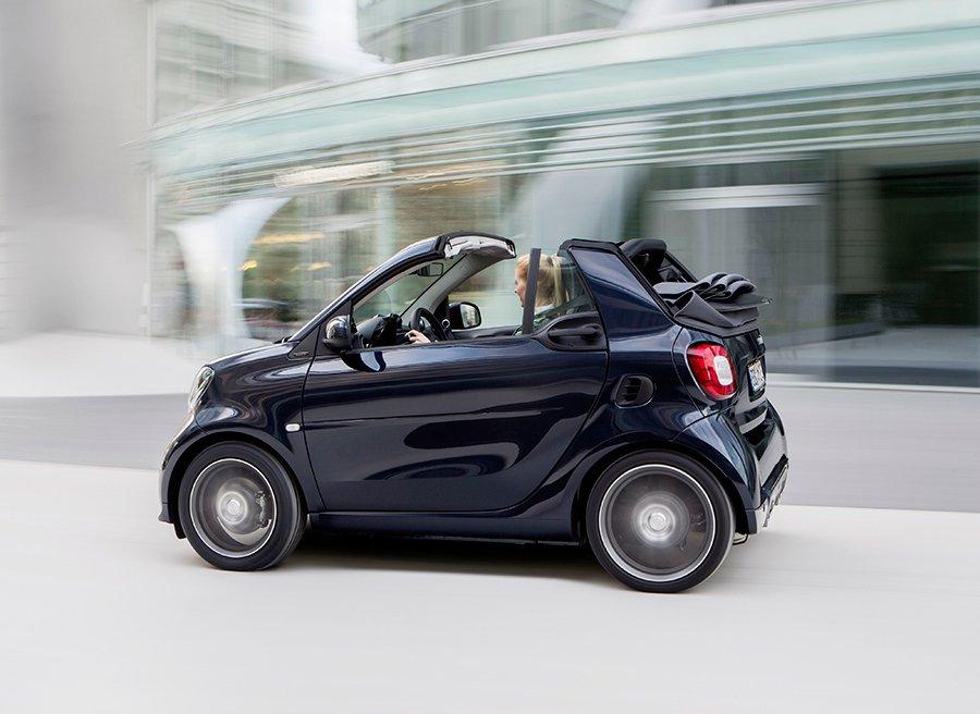 El Smart es compacto, su radio de giro es impresionante y puedes configurarlo a tu gusto.