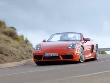 Video presentación del nuevo Porsche 718 Boxster