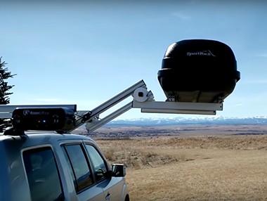 RazerLift, una baca para cargar equipaje sin esfuerzo