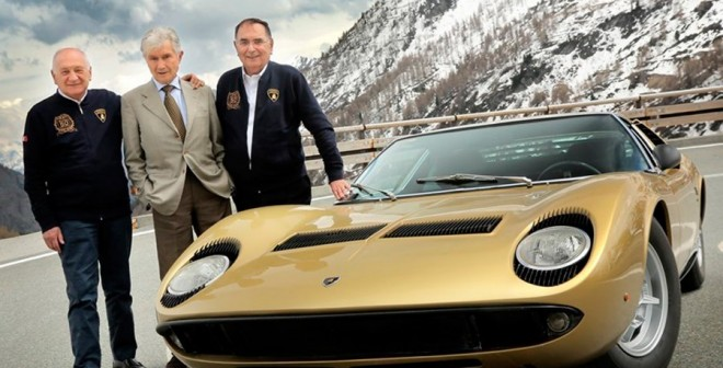 El Lamborghini Miura vuelve a las carreteras de The Italian Job