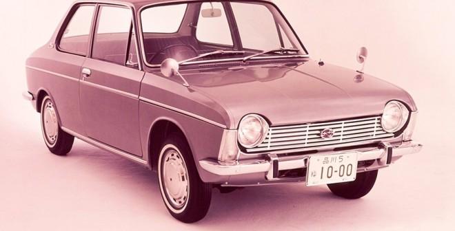 50 aniversario del motor bóxer de Subaru-Subaru 1000