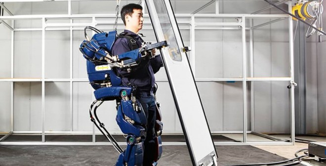 El exoesqueleto de Hyundai