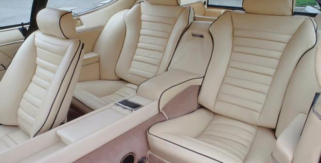 Lamborghini Espada 1968 interior
