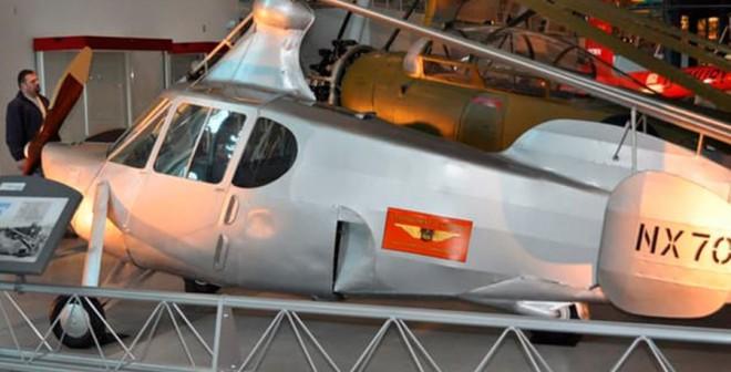 Los coches voladores de Dezso Molnar Pitcairn AC-35