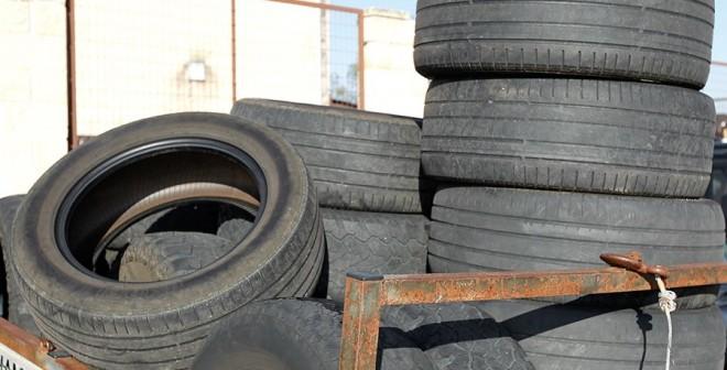 Qué pasa con los neumáticos reciclados 1