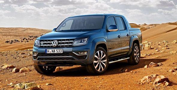 El nuevo Volkswagen Amarok llegará en septiembre con motores V6