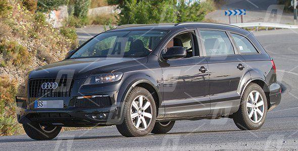Fotos espía de la tercera generación del VW Touareg
