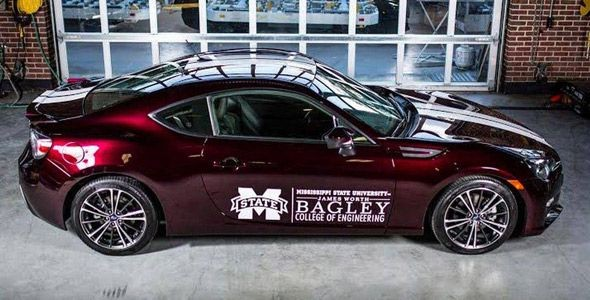 Transforman un Subaru BRZ de gasolina en un híbrido enchufable