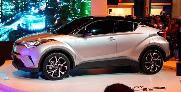 El nuevo Toyota C-HR debuta en Madrid Auto 2016