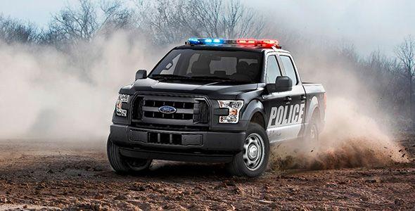 Así son los Ford F-150 Special Service Vehicle de la policía norteamericana