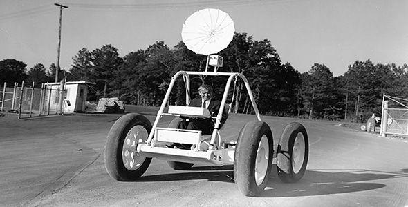 Un buggie espacial de la NASA, a subasta
