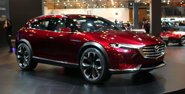 El Mazda Koeru estará en el Madrid Auto 2016