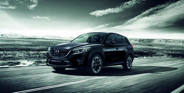 Mazda CX-5 Black Tech Edition, en el Madrid Auto 2016