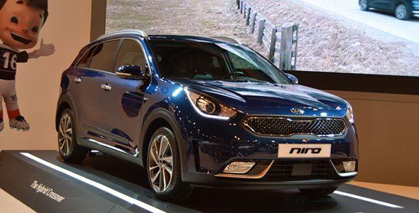 Kia Niro: un SUV híbrido para Madrid Auto 2016