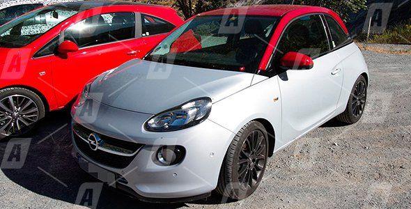 Fotos espía de los nuevos motores de Opel