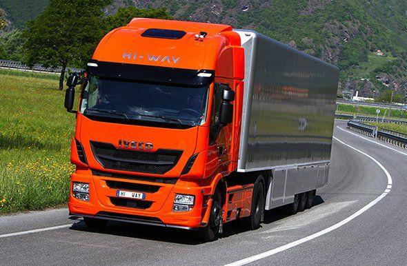 Un camión Iveco de película
