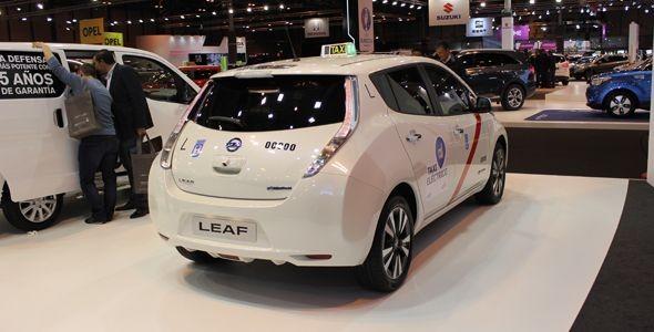 Nissan entregará 110 Leaf para su uso en los taxis de Madrid