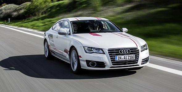 El Audi A7 piloted driving circulará por la autobahn A9 sin conductor