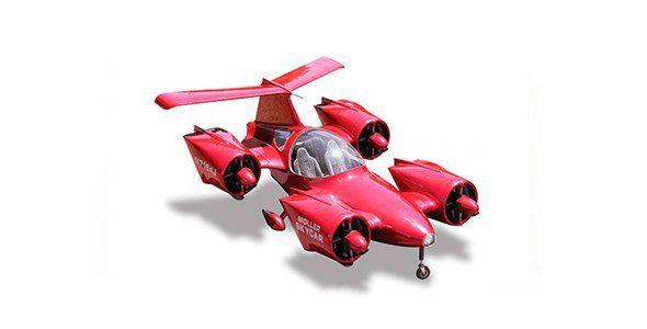 Los coches voladores de Dezso Molnar