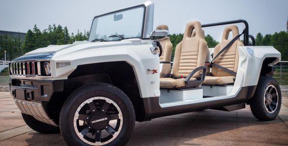 El nuevo Hummer eléctrico con prestigio: HX-T Limo