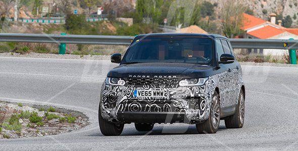 Fotos espía del nuevo Range Rover Sport 2017