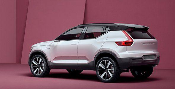 Volvo muestra un anticipo de sus nuevos compactos