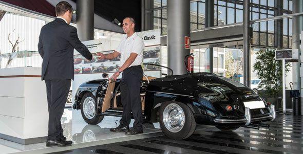 Inaugurado el primer Porsche Classic Partner de España