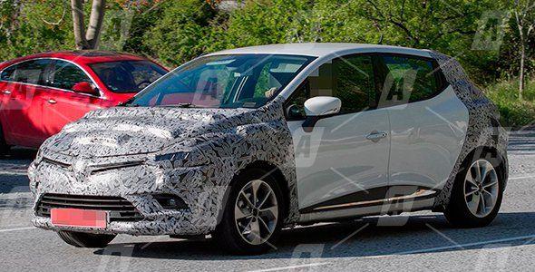 Fotos espía del Renault Clio 2017