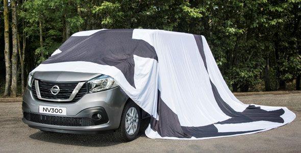 Primera foto de la nueva Nissan NV300