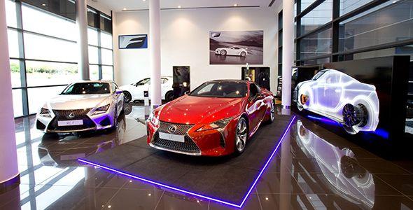 Lexus estrena en Madrid un rincón exclusivo para sus vehículos de altas prestaciones