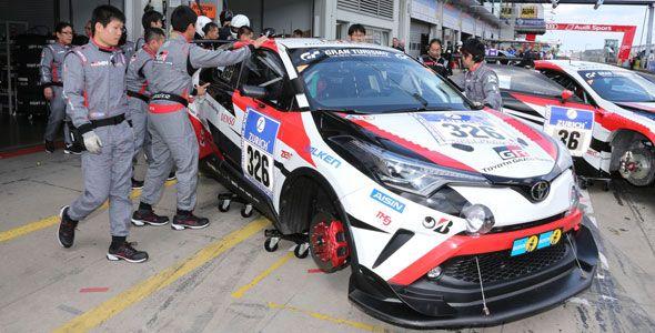 Nuevo Toyota C-HR, protagonista en las 24 Horas de Nürburgring