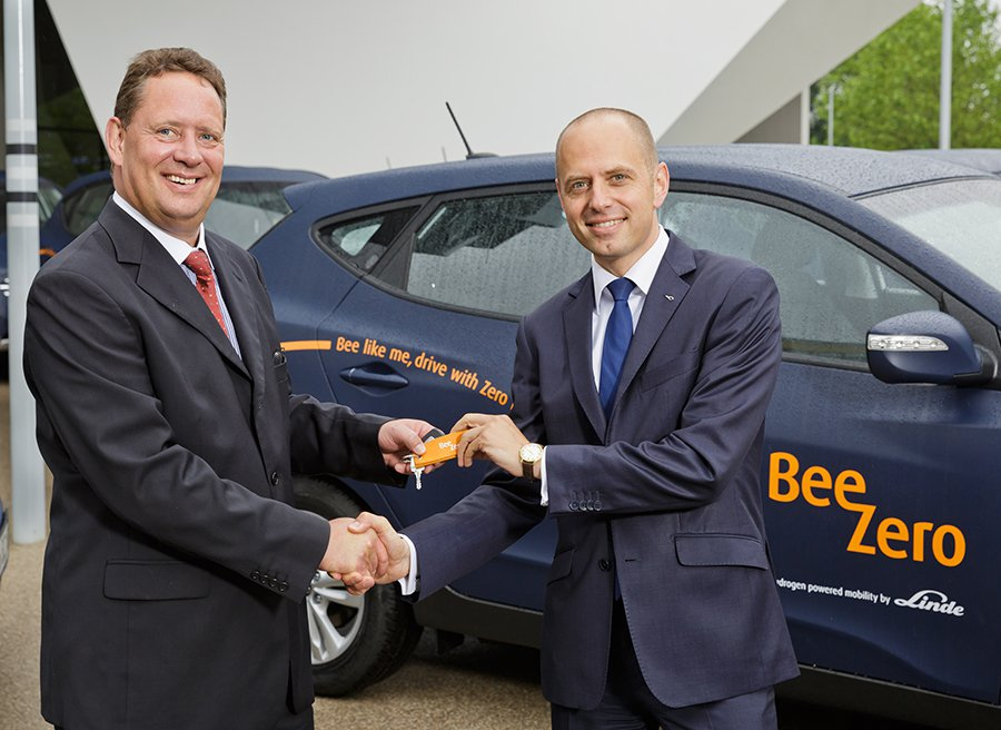 50 Hyundai iX35 Fuel Cell de hidrógeno para car sharing
