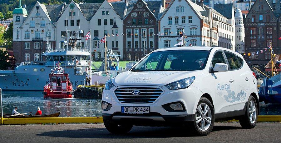De Bergen a Bolzano en el Hyundai iX35 Fuel Cell
