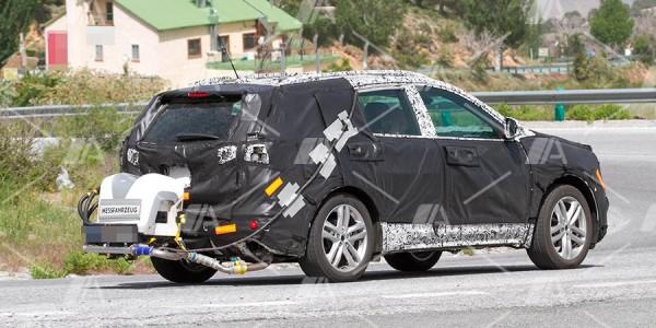 Fotos y vídeo espía del nuevo Chevrolet Equinox 2017