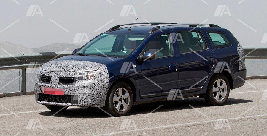 Fotos espía del nuevo Dacia Logan MCV 2017