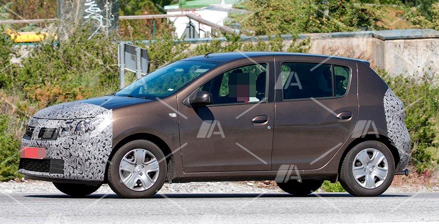 Fotos espía del Dacia Sandero 2017
