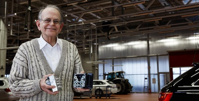 Homenaje al inventor del ESP Anton van Zanten