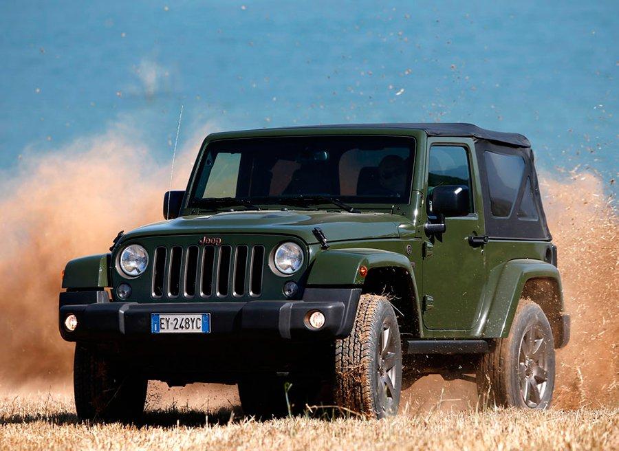 El Jeep Wrangler rinde homenaje a los 75 años de Jeep