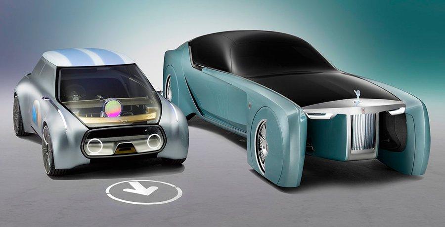 Mini Vision Next 100, el concepto del Rolls en envase pequeño