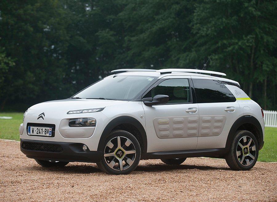 Suspensión con topes hidráulicos progresivos de Citroën
