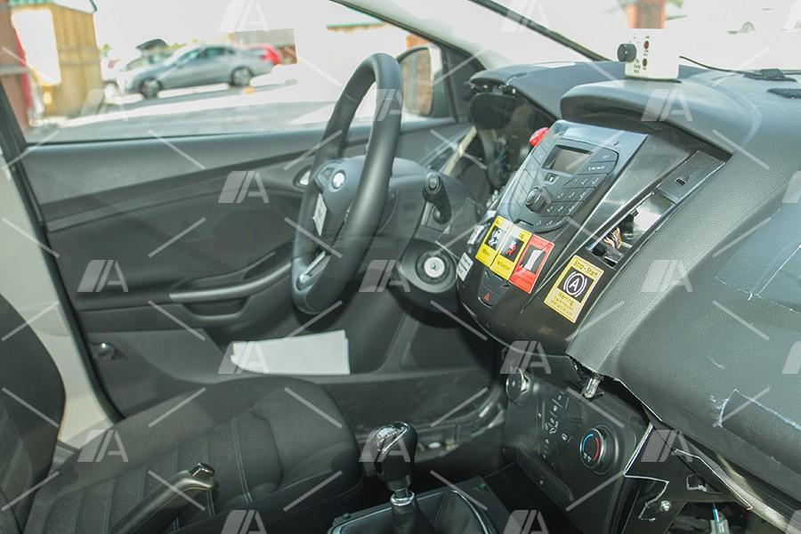 En el interior se aprecian todos los sistemas de control y seguridad.