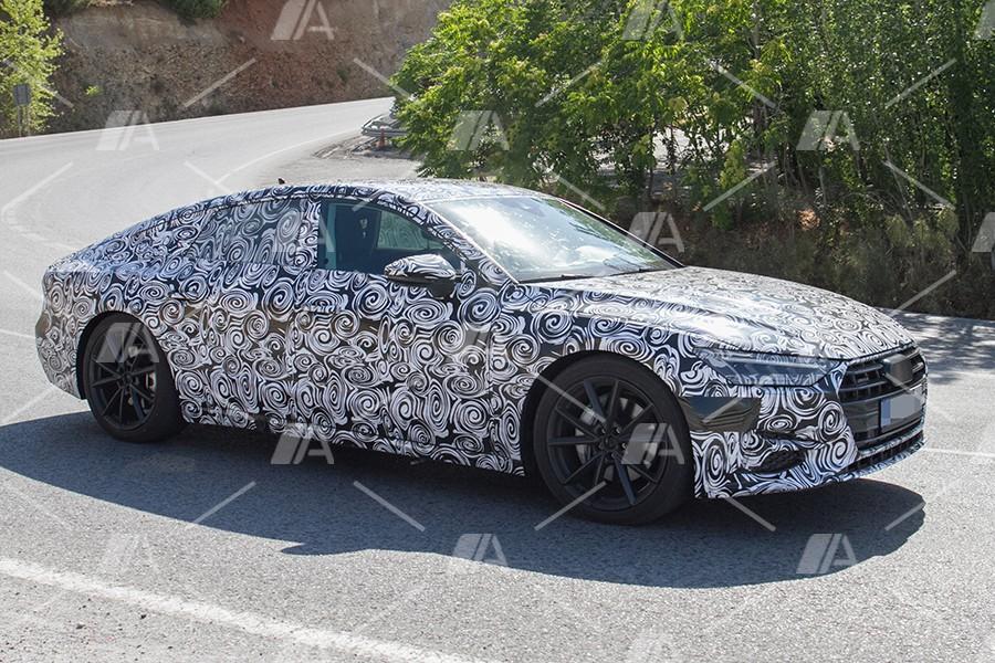 Fotos y vídeo espía del nuevo Audi A7 2018